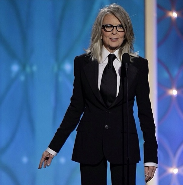 ozinparis-diane-keaton-golden-globes-grey-hair
